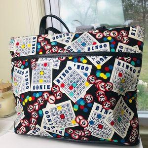 Vintage bingo player big purse